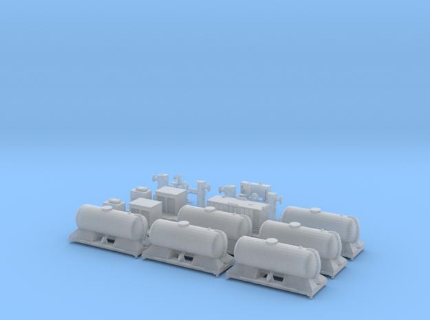 FEA-B Rail Head Treatment Train Three Wagon Set