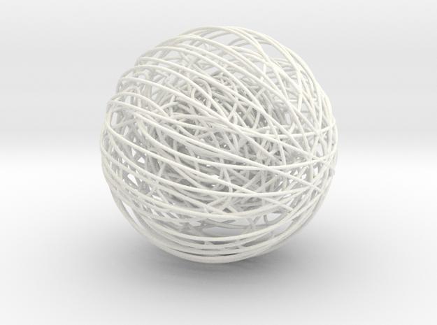 46 in White Processed Versatile Plastic