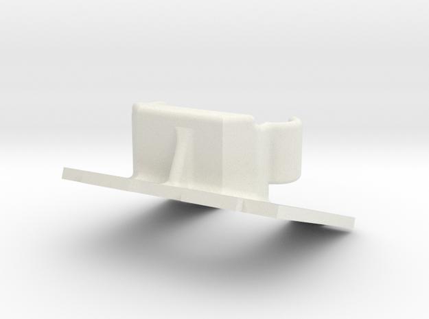 600 Tvl Mount 20° V2 in White Strong & Flexible
