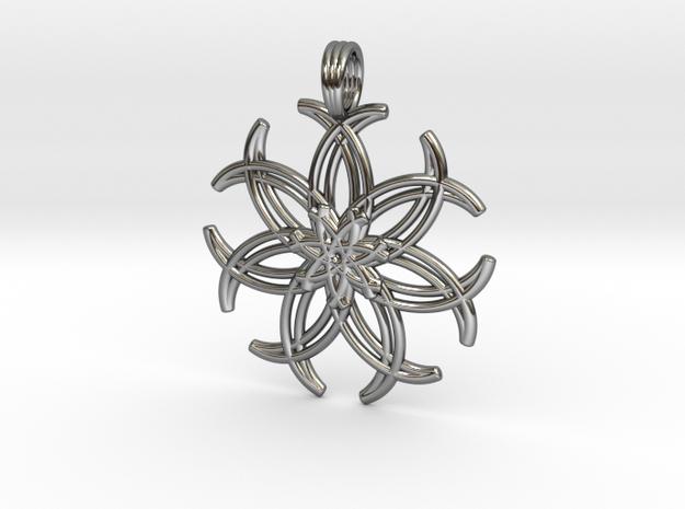 LUNAR PLEXUS in Premium Silver