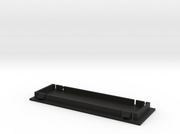 Single Din Blank Plate  in Black Strong & Flexible