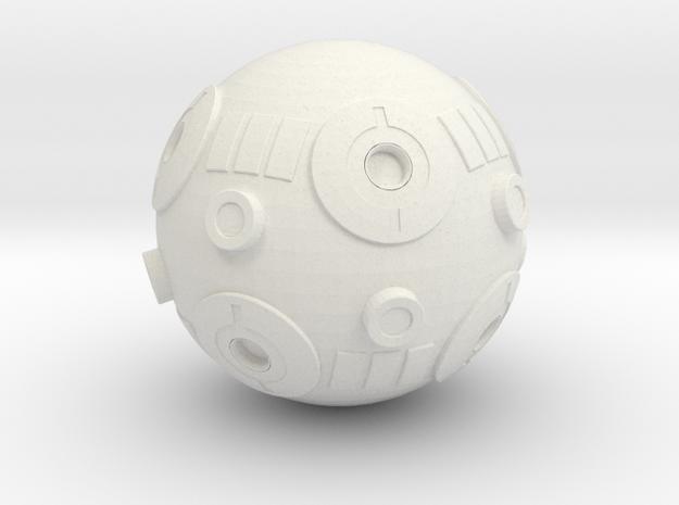 De Agostini  Jedi training remote in White Natural Versatile Plastic
