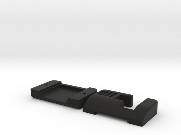 Commodore 64  1541 Ultimate II Tape Adapter Case in Black Natural Versatile Plastic