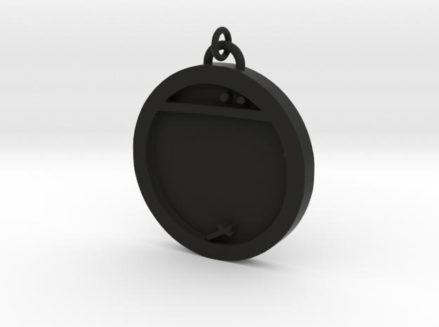 23S – XVIII SURVIVE IN INTOLERABLE SITUATIONS in Black Natural Versatile Plastic