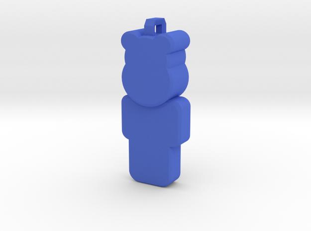OpenSimulator Pendant  in Blue Processed Versatile Plastic