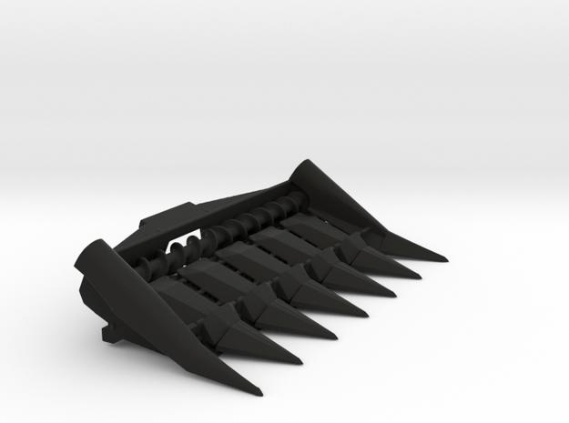 N 6ROW in Black Natural Versatile Plastic