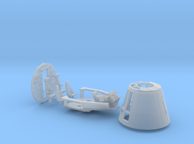 BLOCKADE RUNNER STUDIO SCALE CONE COCKPIT BACKWALL