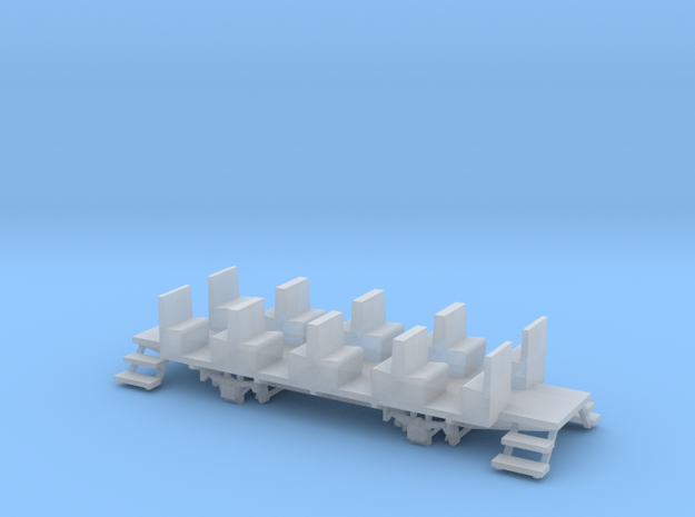 YsteC B29 Chassis (H0m, 1:87) in Smooth Fine Detail Plastic