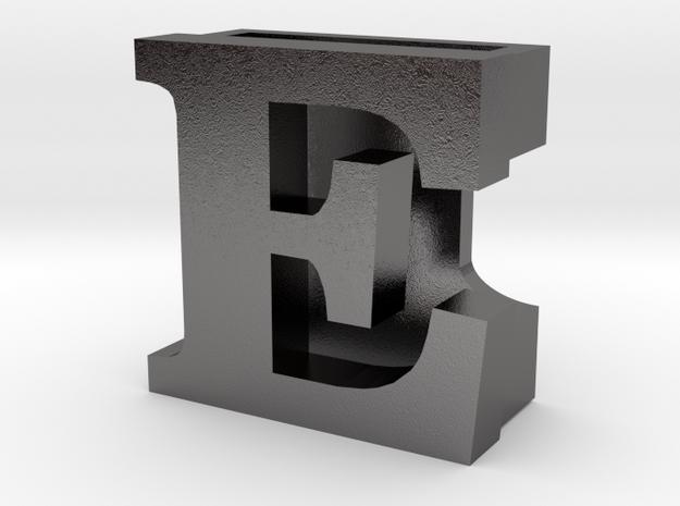 BandBit E for Fitbit Flex in Polished Nickel Steel