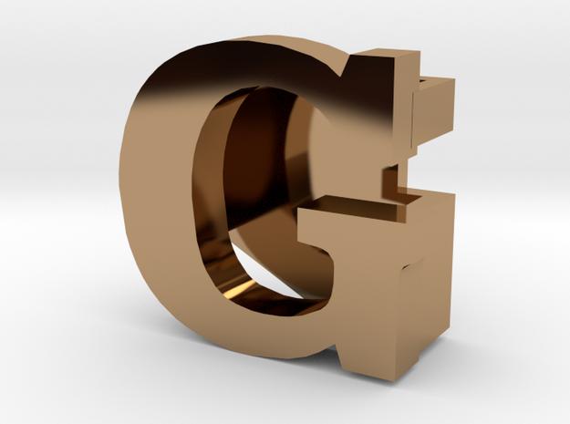 BandBit G for Fitbit Flex in Polished Brass