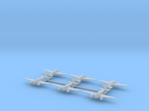 Caproni Ca.313 (In flight) 1/700 in Smooth Fine Detail Plastic