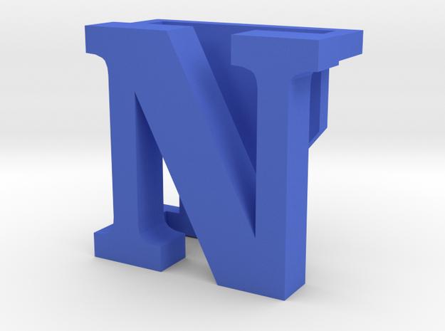 BandBit N for Fitbit Flex in Blue Processed Versatile Plastic