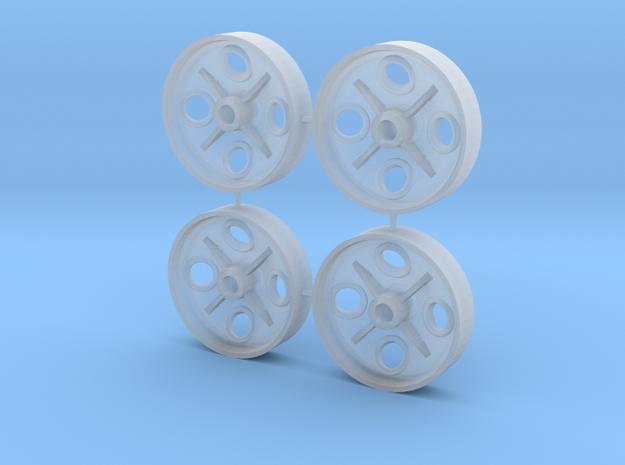 1:13,3, FB Radscheiben 350mm in Smooth Fine Detail Plastic