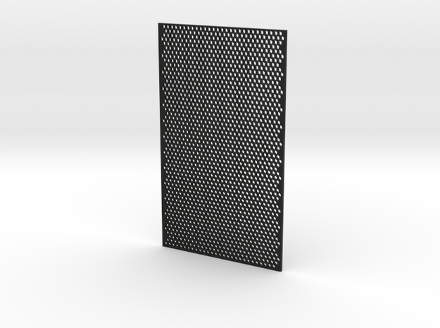 3mm Honeycomb Sheet 3mm Thick in Black Strong & Flexible