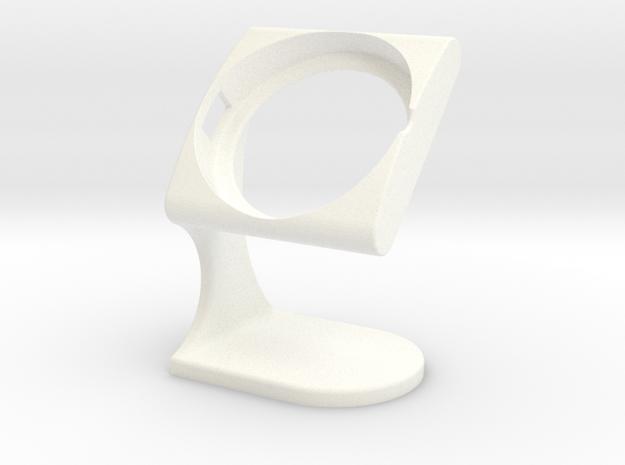 LG Urbane Desktopstand(New-Design) in White Processed Versatile Plastic