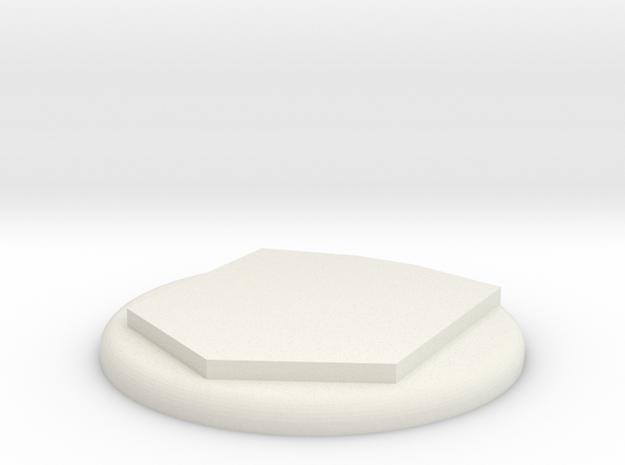 TAV19 Powerglide chest Add-on Parts in White Natural Versatile Plastic