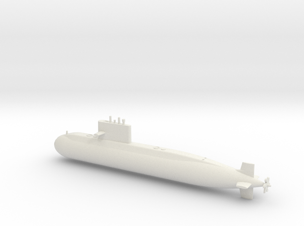 1/600 Type 039A Class Submarine in White Strong & Flexible