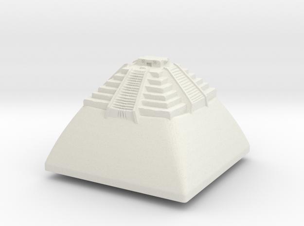 Chichén (Topre DSA) in White Natural Versatile Plastic