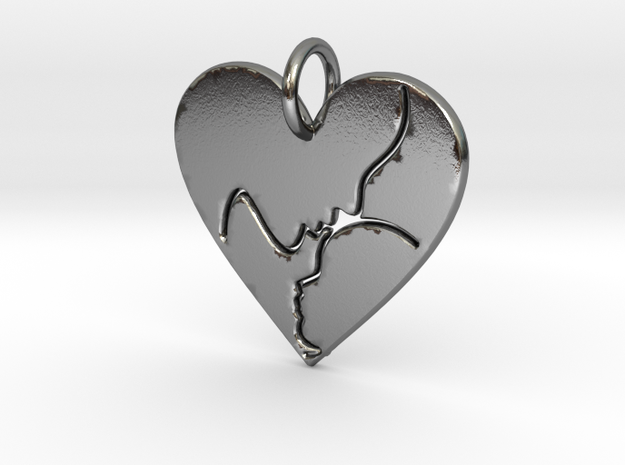 Mother and Child Pendant (solid)