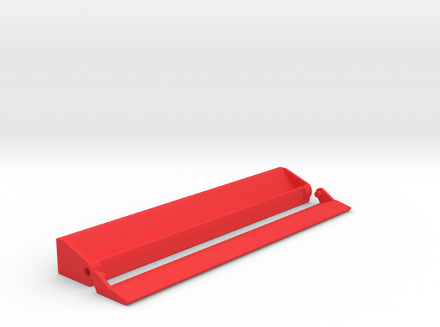 Scrabble Rack with Lid (Personalized) in Red Processed Versatile Plastic