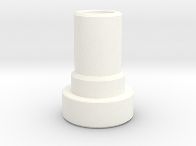 Shaft Support Tower in White Strong & Flexible Polished