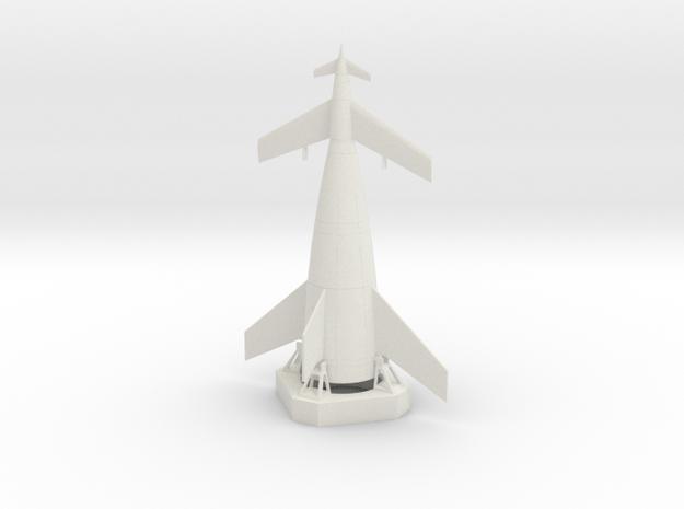 1/700 VON BRAUN SHUTTLE in White Strong & Flexible