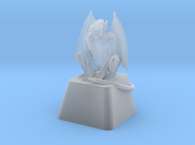 Gargoyle Cherry MX Keycap in Smooth Fine Detail Plastic
