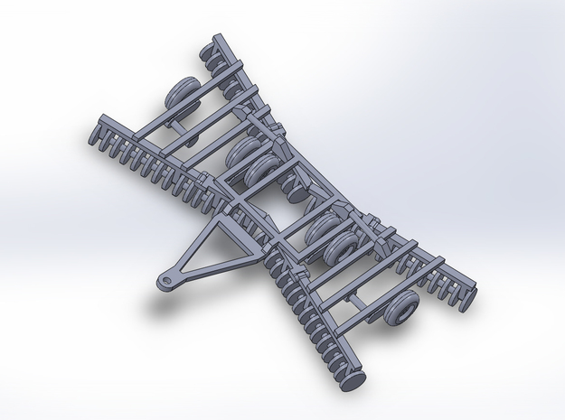 1:160/N-Scale Disc Harrow 2 in Frosted Ultra Detail