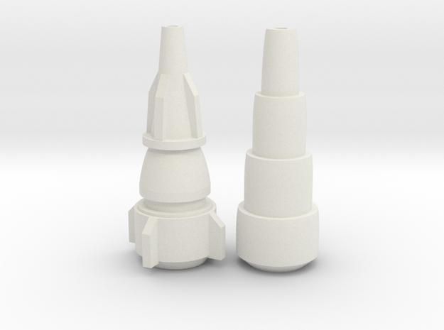 Maketoys Wrestle Arm Combo Toy & Toon in White Natural Versatile Plastic