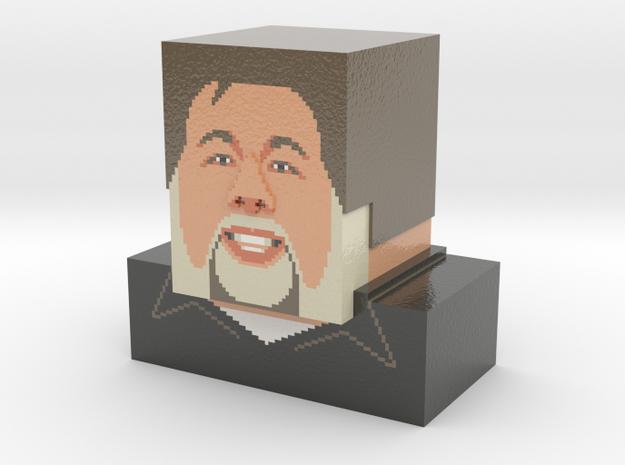 Steve Wozniak bust 3d printed