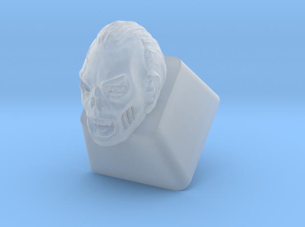 Zombie Cherry MX Keycap in Smooth Fine Detail Plastic