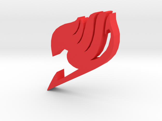 """""""Fairy Tail Symbol"""" - A Monopoly Figure in Red Processed Versatile Plastic"""