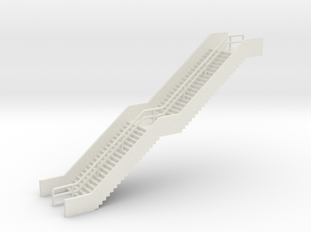 N Scale Station Stairs H50mm
