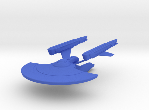 1/2500 Columbia V2a in Blue Processed Versatile Plastic