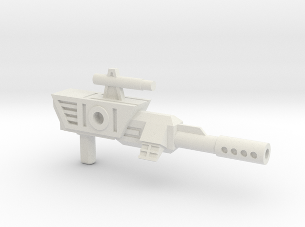 SZT003E Scavenger's Blaster in White Strong & Flexible