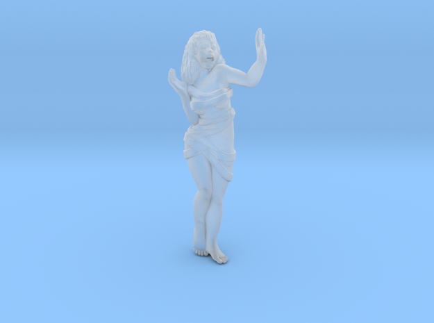 28mm A Mad Scientists Prisoner Female in Smooth Fine Detail Plastic