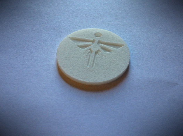 Firefly Pendant 3d printed