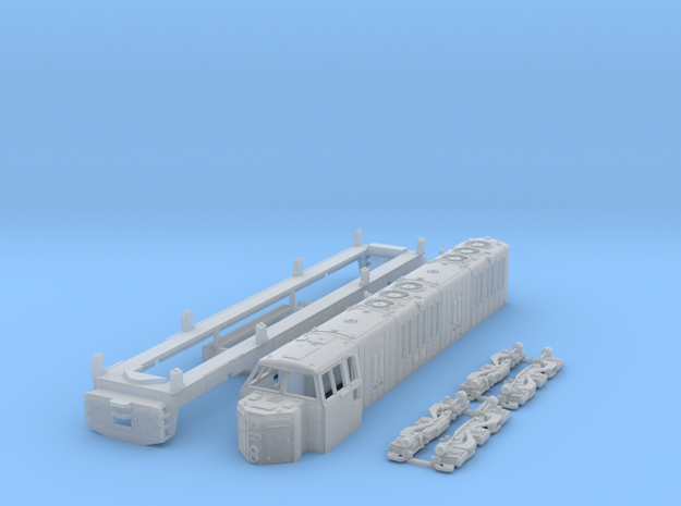 N Scale ML4000 Hood unit in Smoothest Fine Detail Plastic