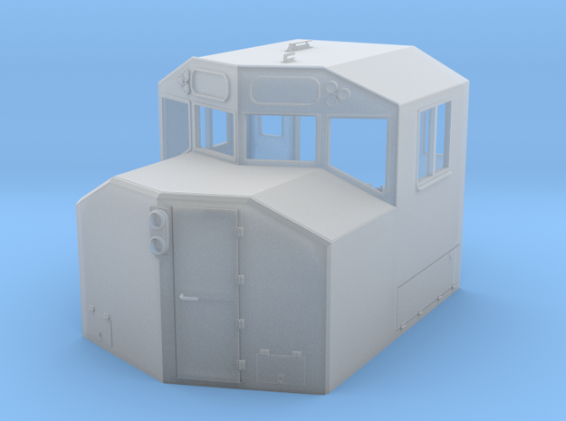 HO-Scale Canadian Comfort Cab v.3a (2016 Update)