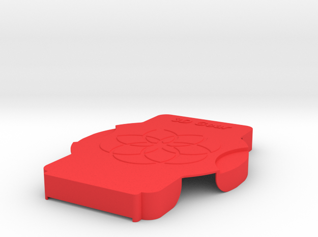 XuGong V2 - Cover in Red Processed Versatile Plastic