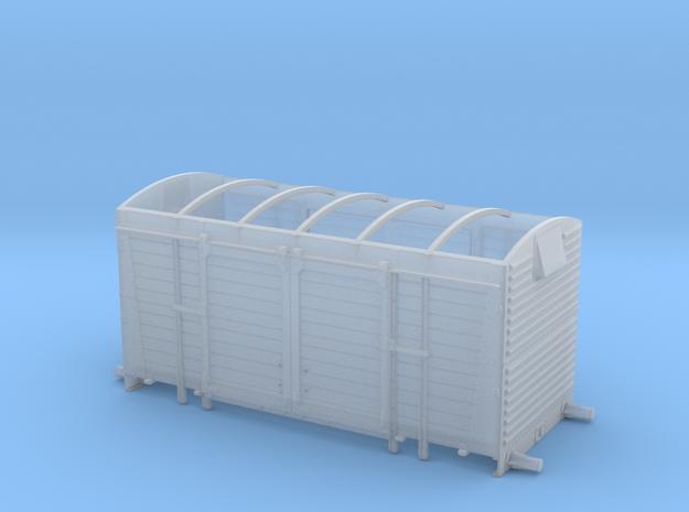 BR/LMS 12 ton Pallet Van body, no roof - 4mm scale