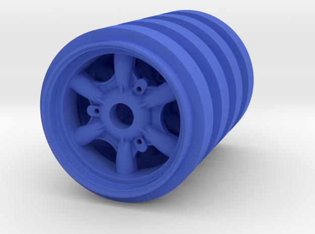 RIM GT Scale Model 1:8 Renault A110 4x in Blue Processed Versatile Plastic