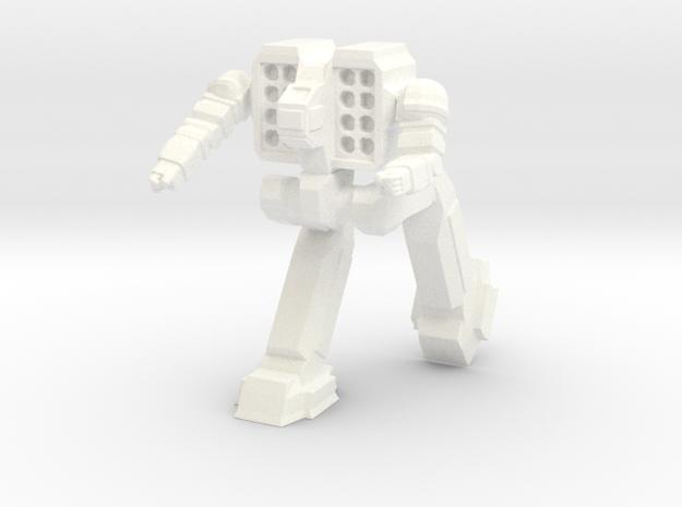 Reaper Pose 2 in White Processed Versatile Plastic
