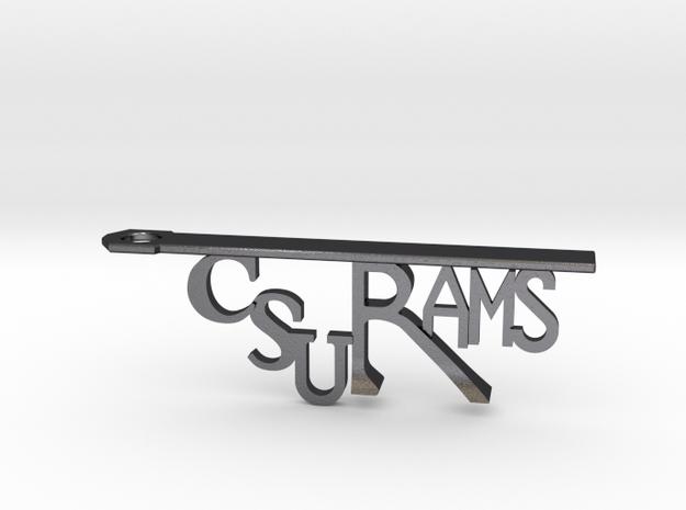 CSU Rams Bottle Opener Keychain