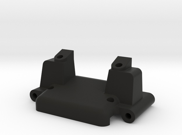 Team Losi JRX Front Bulkhead in Black Strong & Flexible