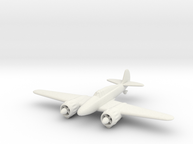 1/144 IMAM Ro-57 in White Natural Versatile Plastic