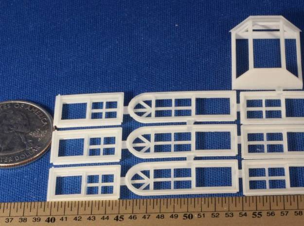 Replacement Windows for DPM Pam's Pets 3d printed