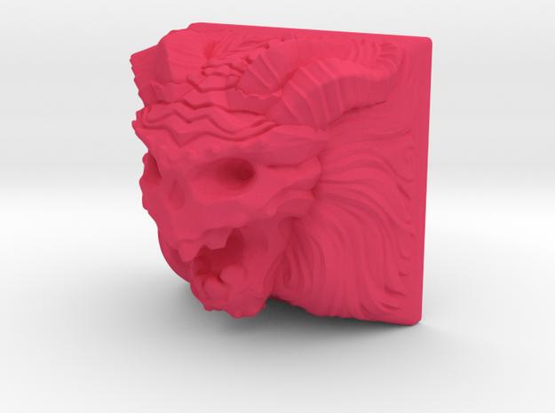 Demon Keycap (Cherry MX DSA) in Pink Processed Versatile Plastic