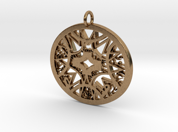Ornamental #6 in Natural Brass