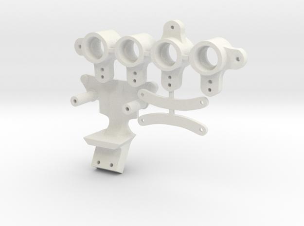 Losi Micro-T Bellcranck in White Natural Versatile Plastic